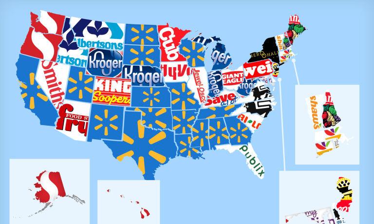 MapsSupermarket